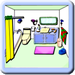 Clickable Pictures - Bathroom