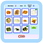 Learning Game - A Healthy Meal