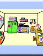 点图识字 – 厨房