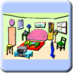 Clickable Pictures - Living Room