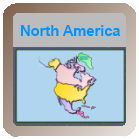 Geography Game - North America