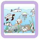 Color the Picture - Sea Animals