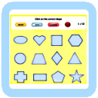Interactive Learning Game for kids - Find the Shape