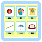 Learning Game - Go Shopping