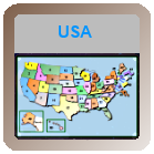 Geography Game - The USA